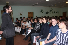 Заключительный этап всероссийской олимпиады школьников по математике в Сарове 2013_453