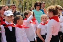 Союз детских организаций «Сияющие звезды» принял в свои ряды 614 третьеклассников_4