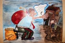 Награждены авторы лучших рисунков и плакатов по теме  «Вместе против коррупции»_15