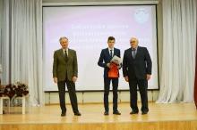 Торжественный прием победителей и призеров регионального и заключительного этапов всероссийской олимпиады школьников 2017_5