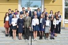 Торжественный прием победителей и призеров регионального и заключительного этапов всероссийской олимпиады школьников 2017_64