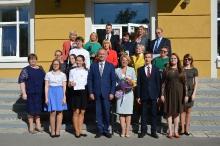 Торжественный прием победителей и призеров регионального и заключительного этапов всероссийской олимпиады школьников 2018_42
