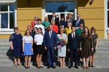 Торжественный прием победителей и призеров регионального и заключительного этапов всероссийской олимпиады школьников 2018_43