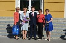 Торжественный прием победителей и призеров регионального и заключительного этапов всероссийской олимпиады школьников 2018_44
