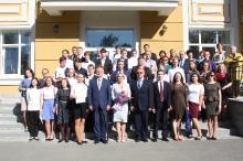Торжественный прием победителей и призеров регионального и заключительного этапов всероссийской олимпиады школьников 2018_45