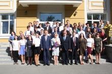 Торжественный прием победителей и призеров регионального и заключительного этапов всероссийской олимпиады школьников 2018_46