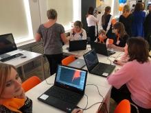 Открытие Open Space в гимназии № 2 с участием генерального директора ГК